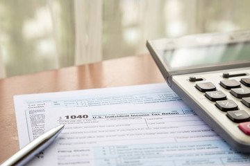 Form 1040, U.S. Individual income tax return