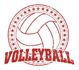 Volleyball Design - Vintage