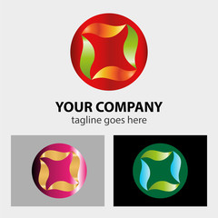 Sphere Abstract vector logo