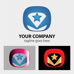 Star vector logos