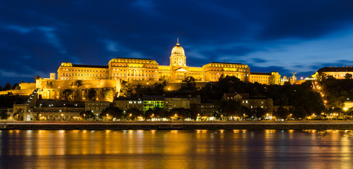 Buda Castle night