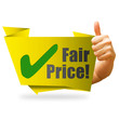 Fair Price! Button, Icon