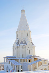 Church of Ascension, Kolomenskoye, Moscow. UNESCO Site.