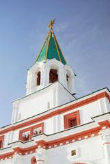 Old tower. Kolomenskoye park in Moscow.