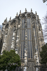 tower of the dom in Aachen