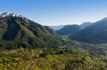 Panorama Val d'adige