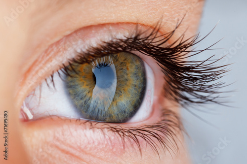 canvas print picture eye
