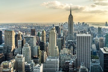 New York City Aerial View
