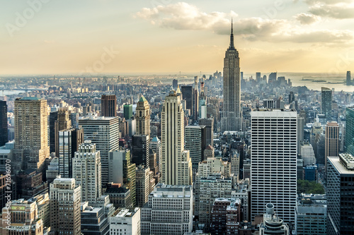 Zdjęcia na płótnie, fototapety, obrazy : New York City Aerial View