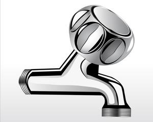 Chrome faucet for bathroom 3