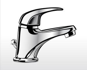 Chrome faucet for bathroom 1