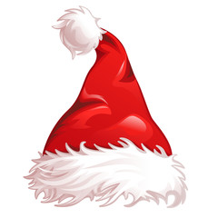 christmas hat santa claus red