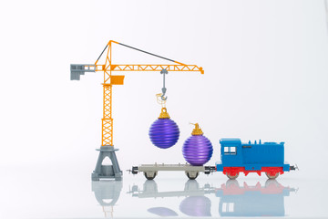 shipping Christmas decorations four