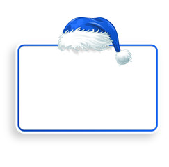 blue christmas sign
