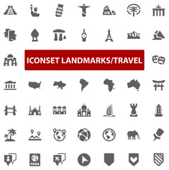Top Iconset - Landmark Travel