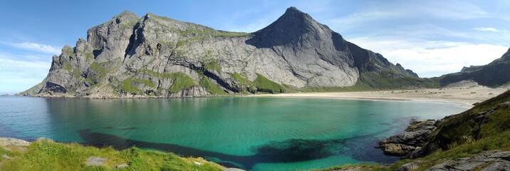 Plage de Bunes (Norvège)