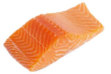 Fillet of salmon.