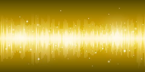 Gold Lightening Background