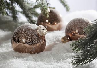 Winter decorations for Xmas holidays seasons