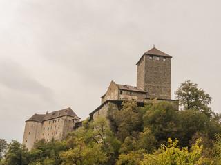 Meran, Stadt, Schloss Tirol, Vinschgau, Algund, Herbst, Italien