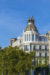 building in Madrid