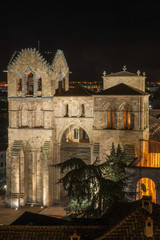 Basilica of San Vicente Night