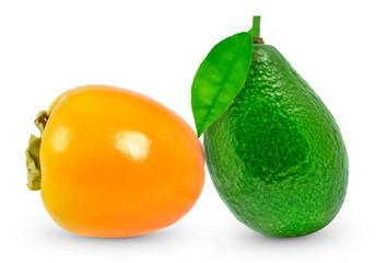 avocado and kaki