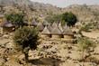 case tipiche etnia maga parco nazionale waza camerun del nord