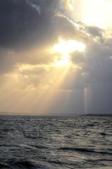 Sunshine after storm