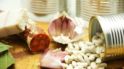 Ingredientes para un potaje