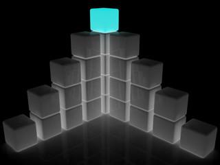 cubic diagram structure
