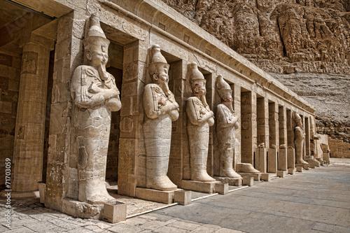 Fotobehang Egypte Hatshepsut near Luxor in Egypt