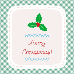 Merry Christmas greeting card35