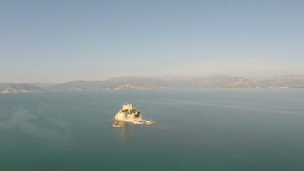 Castle of Bourtzi in Navplio Greece