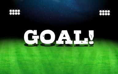 Goal word and stadium