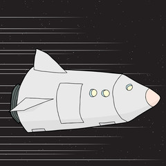 Light Speed Spaceship