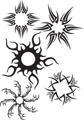 Tattoo Tribalsonnen 2