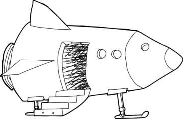 Open Door in Spaceship