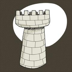 Single Castle Tower