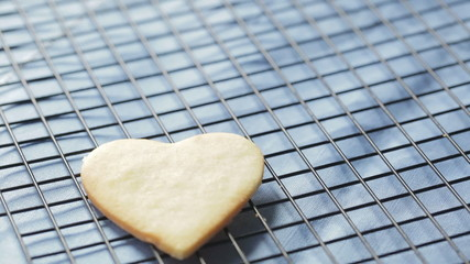 Cooling Heart Cookies