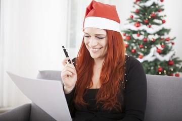 young red hair christmas girl wish list