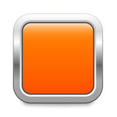 Square template - orange metallic button
