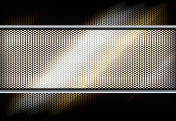 Abstract metal mesh background.