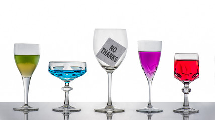Alcohol? No thanks