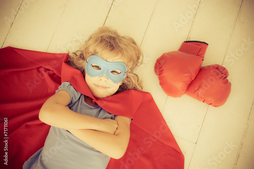 canvas print picture Superhero
