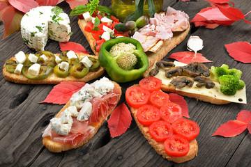 bruschette italia