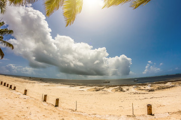Spiaggia africana