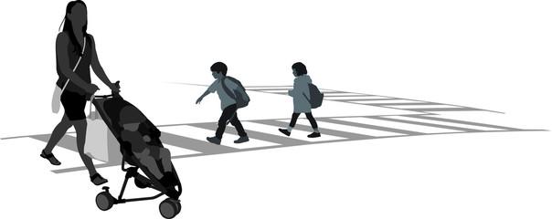Kids Crosswalk