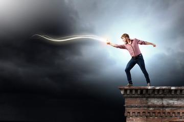 Man magician