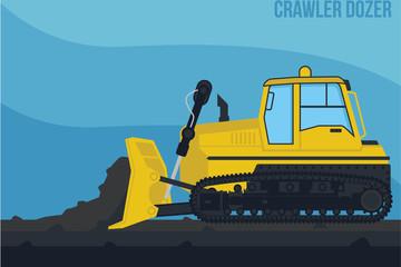 Mining Machinery_Crawler Dozer